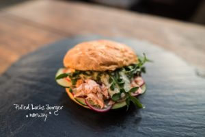 Pulled Lachs Burger norway