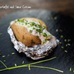 Unsere Ostalb-Smokerkartoffel mit Sour Cream
